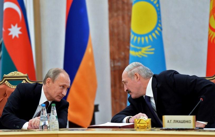 Władimir Putin i Aleksander Łukaszenka /AFP