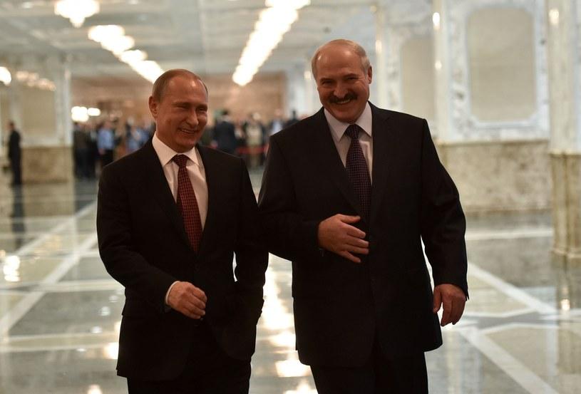 Władimir Putin i Aleksander Łukaszenka /Lazarenko Mykola/Ukrafoto /East News