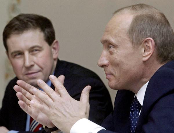 Władimir Putin i Andriej Iłłarionow /AFP
