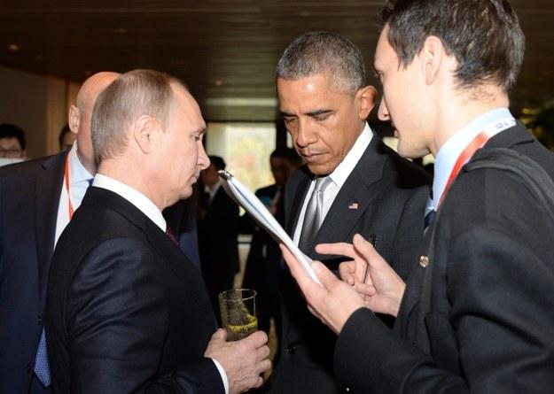 Władimir Putin i Barack Obama /RUSSIAN PRESIDENTIAL PRESS SERVICE /PAP/EPA