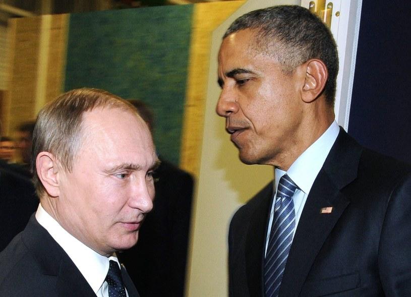 Władimir Putin i Barack Obama /MIKHAIL KLIMENTYEV /East News