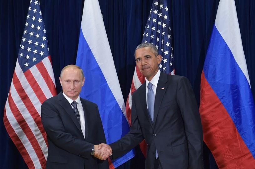 Władimir Putin i Barack Obama /AFP