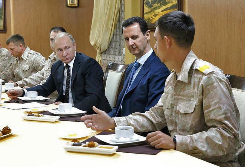 Władimir Putin i Baszar al-Asad /AFP