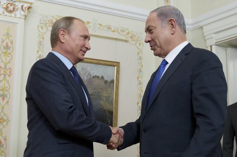 Władimir Putin i Benjamin Netanjahu /AFP