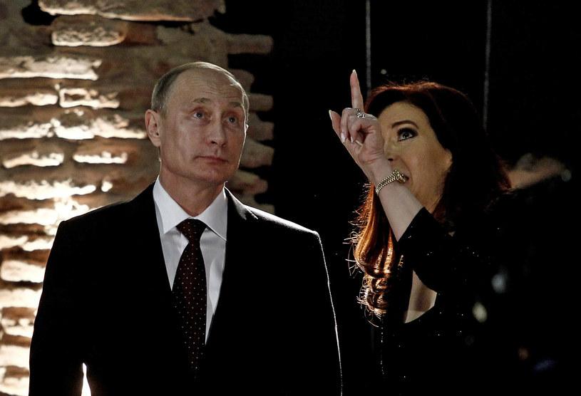 Władimir Putin i Cristina Fernandez de Kirchner podpisali porozumienie /AFP
