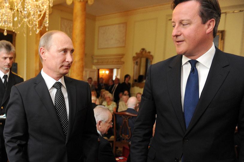 Władimir Putin i David Cameron /AFP