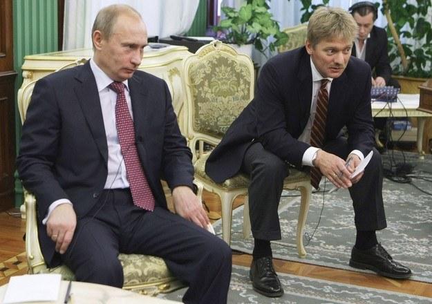 Władimir Putin i Dmitrij Pieskow /East News
