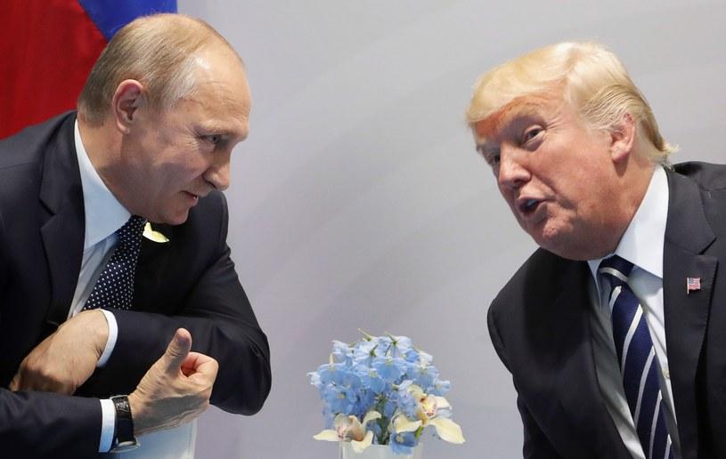 Władimir Putin i Donald Trump podczas szczytu G20 /AFP