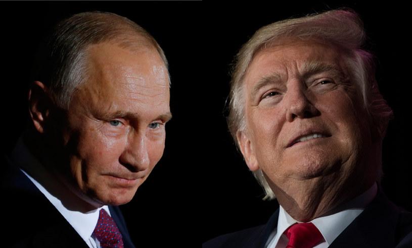 Władimir Putin i Donald Trump /Jim WATSON, Odd ANDERSEN  /AFP