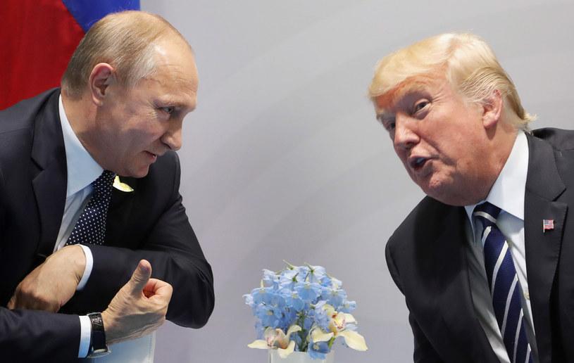Władimir Putin i Donald Trump /AFP
