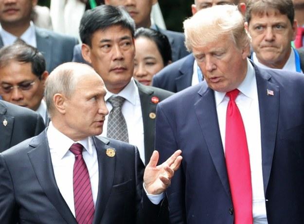 Władimir Putin i Donald Trump /MIKHAIL KLIMENTYEV/SPUTNIK/KREMLIN / POOL /PAP/EPA
