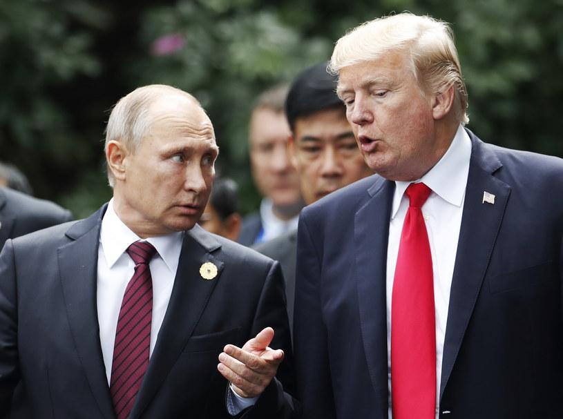 Władimir Putin i Donald Trump /JORGE SILVA / POOL /AFP