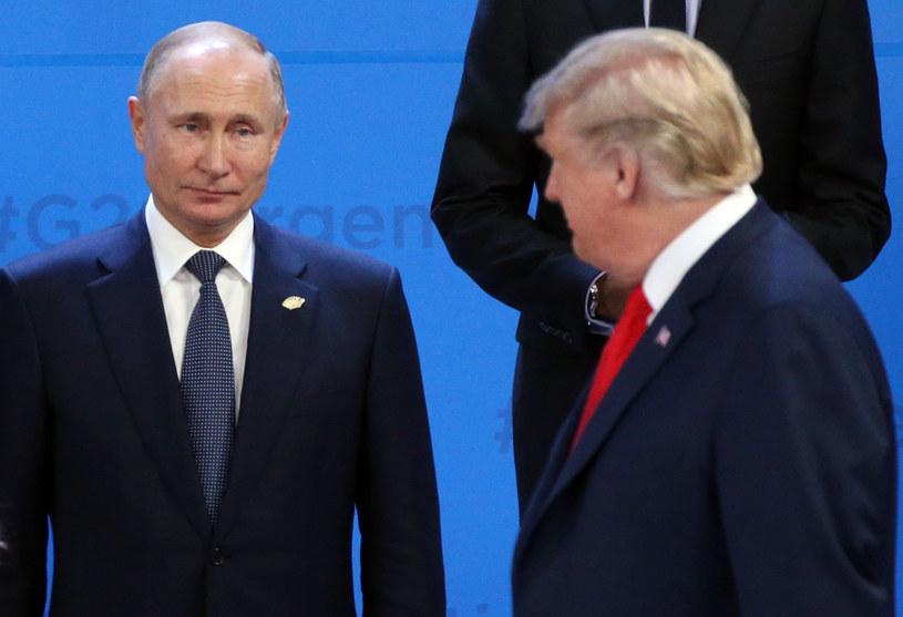 Władimir Putin i Donald Trump /Mikhail Svetlov /Getty Images