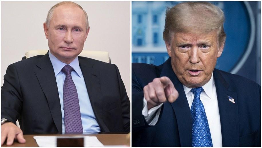 Władimir Putin i Donald Trump /ALEXEI DRUZHININ / SPUTNIK / KREMLIN POOL/SARAH SILBIGER / POOL /PAP/EPA