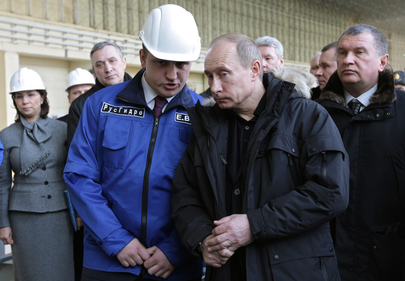 Władimir Putin i Jewgienij Dod /AFP