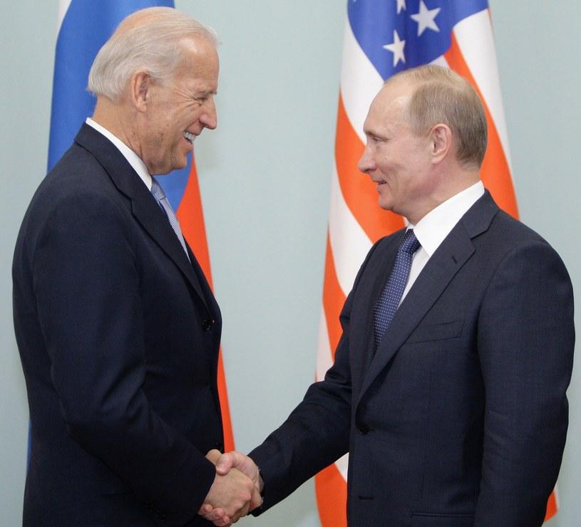 Władimir Putin i Joe Biden spotkali się w Moskwie w 2011 roku /ALEXEY DRUZHININ /AFP