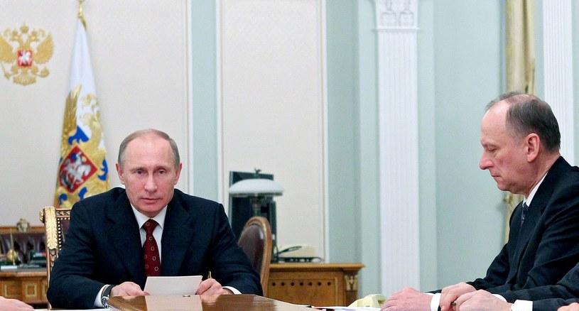 Władimir Putin i Nikołaj Patruszew /AFP