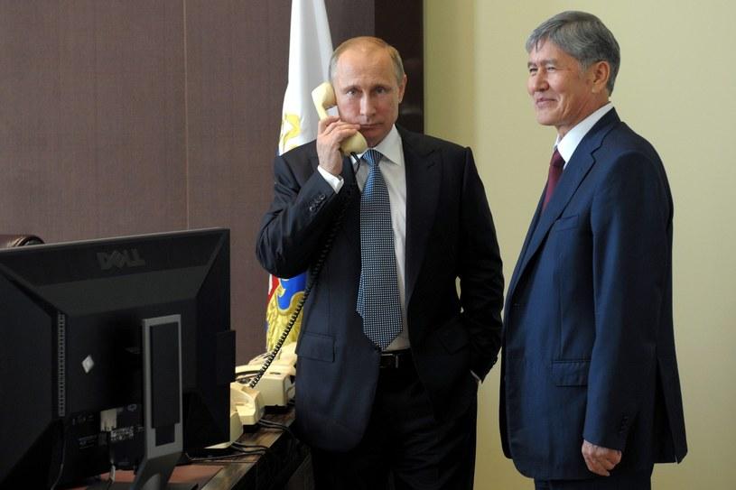 Władimir Putin i prezydent Kirgistanu /PAP/EPA