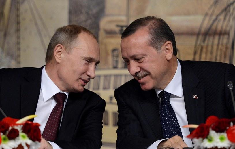 Władimir Putin i Recep Erdogan /Abaca /East News