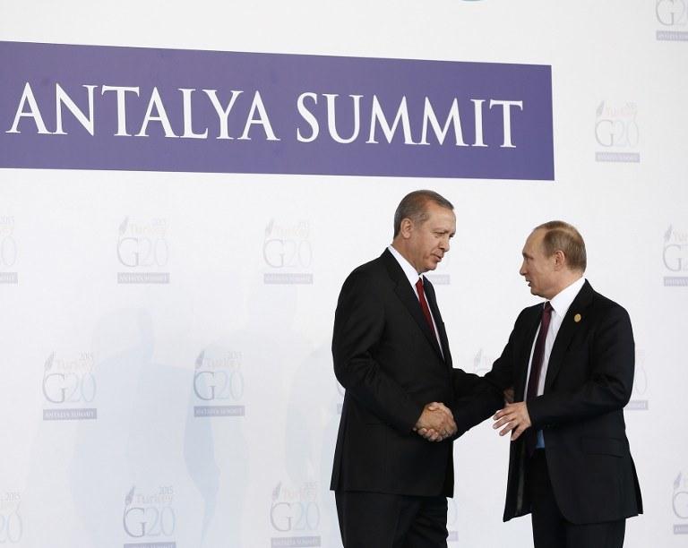 Władimir Putin i Recep Tayyip Erdogan /AFP