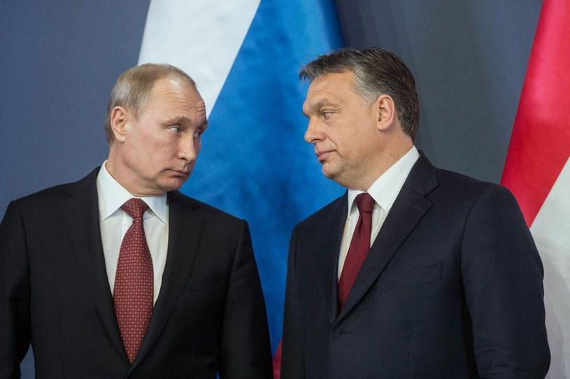 Władimir Putin i Wiktor Orban /AFP