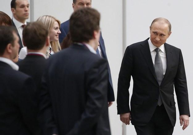 Władimir Putin: Możliwe, że za jakiś czas Rosjanie poznają nową pierwszą damę