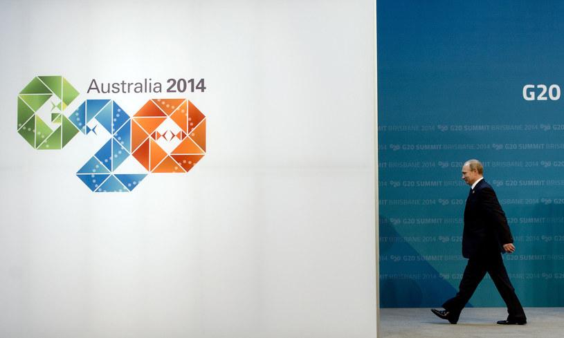 Władimir Putin na szczycie G20 /AFP