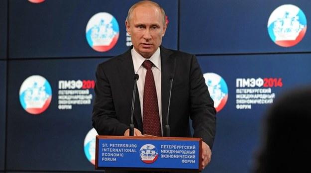 Władimir Putin nie musi obawiać się sankcji /MIKHAIL KLIMENTIEV / RIA NOVOSTI / KREMLIN POOL /PAP/EPA