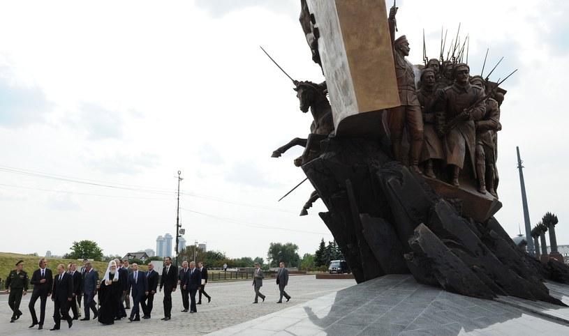 Władimir Putin odsłonił pomnik upamiętniający 100. rocznicę I wojny światowej /AFP