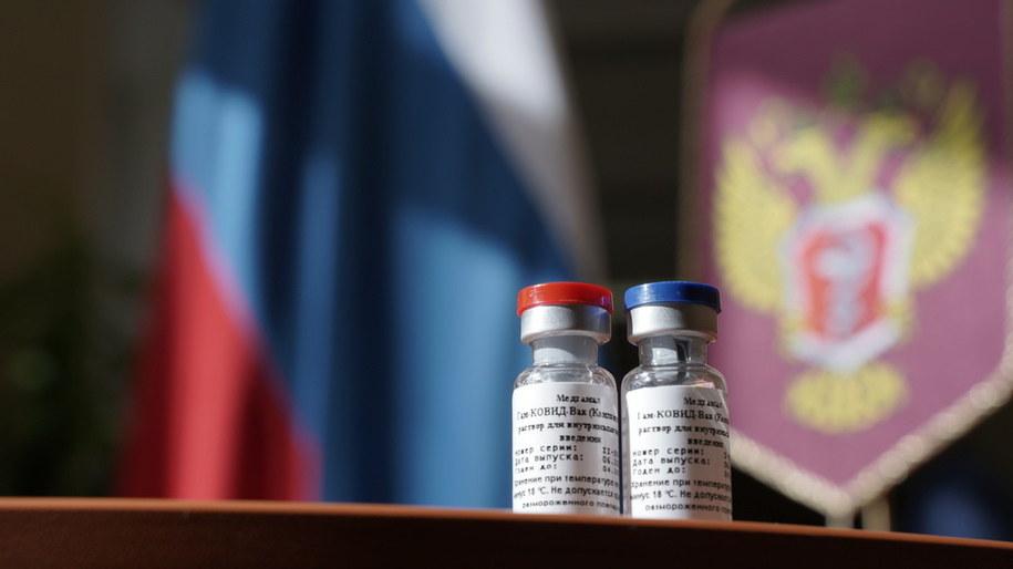 Władimir Putin ogłosił dziś, że Rosja ma skuteczną szczepionkę na koronawirusa /MINZDRAV / HANDOUT /PAP/EPA