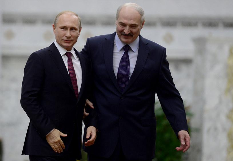 Władimir Putin oraz Alaksandr Łukaszenka /Getty Images