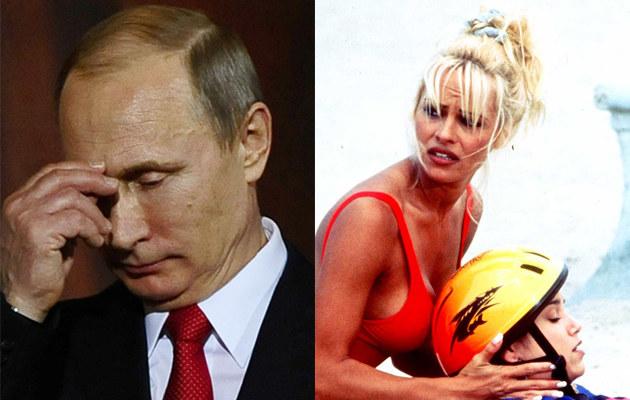 Władimir Putin, Pamela Anderson /Getty Images