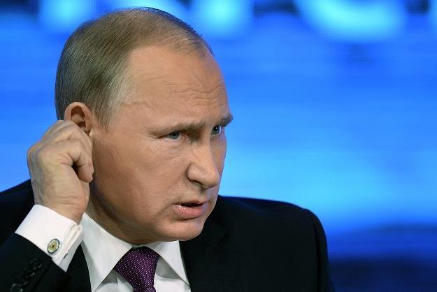 Władimir Putin, pomysłodawca agresji na Krym, sprowadził na Rosję wielkie problemy /AFP
