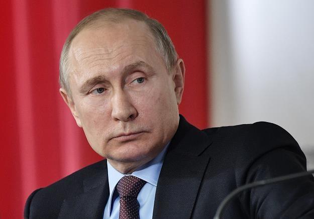 Władimir Putin, prezydent Rosji /EPA