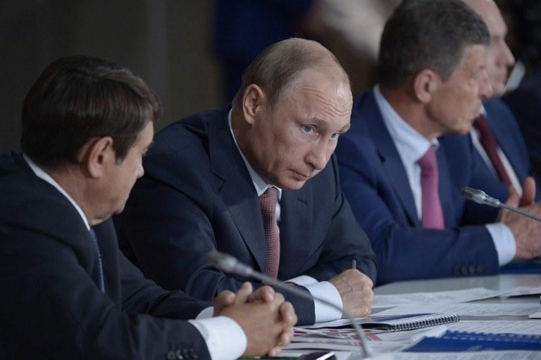 Władimir Putin przebywa obecnie na Krymie /AFP