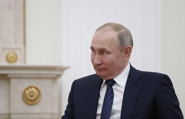 Władimir Putin rozmawiał o sytuacji w Syrii z Recepem Tayyipen Erdoganem /PAP/EPA/EVGENIA NOVOZHENINA / POOL /PAP/EPA