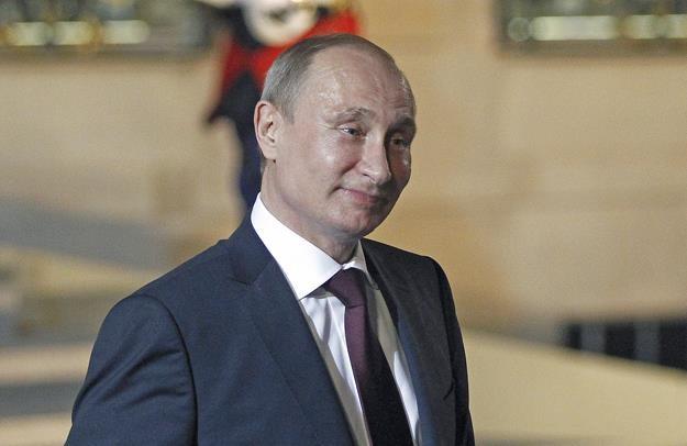 Władimir Putin triumfuje na wielu polach. Fot. Thierry Chesnot /Getty Images/Flash Press Media