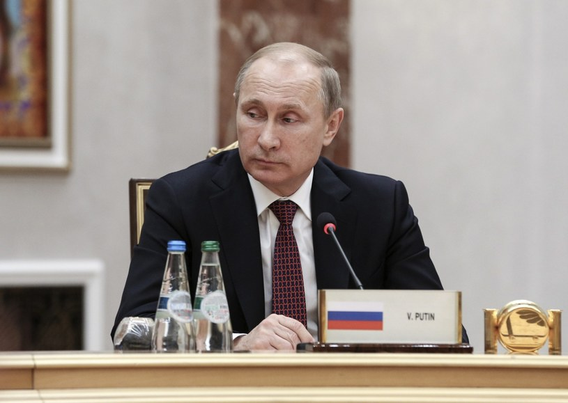 Władimir Putin w Mińsku /PAP/EPA