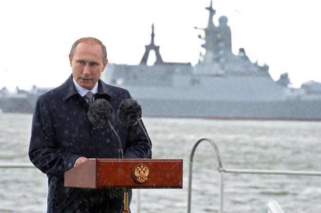 Władimir Putin w obwodzie kaliningradzkim fot. Mikhail Klimentyev / RIA Novosti /AFP