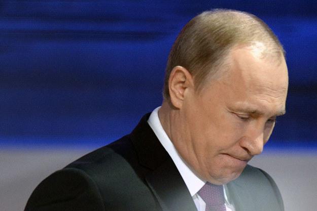 Władimir Putin zaliczył gafę fot. Alexander Nemenov /AFP