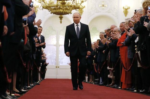 Władimir Putin zaprzysiężony na prezydenta Rosji. Po raz czwarty