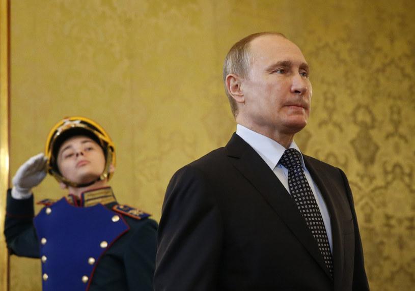 Władimir Putin (zdj. ilustracyjne) /MAXIM SHEMETOV / POOL /AFP