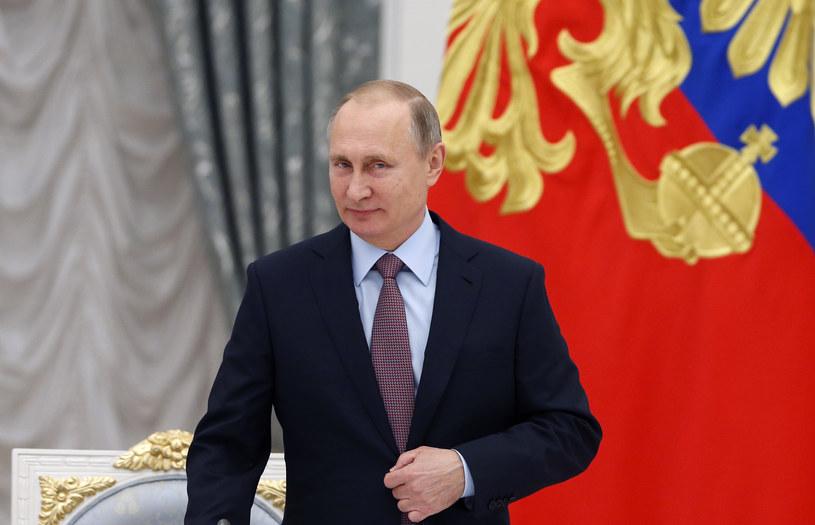 Wladimir Putin - zdjęcie SERGEI ILNITSKY / POOL / AFP /AFP