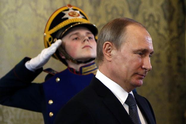 Władimir Putin zdołał dzięki operacji militarnej w Syrii zrealizować najważniejsze cele polityczne /AFP