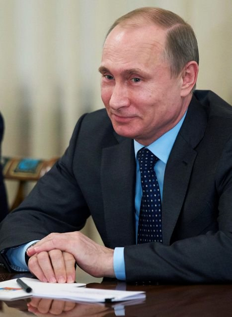Władimir Putin /Alexander Zemlianichenko /PAP/EPA