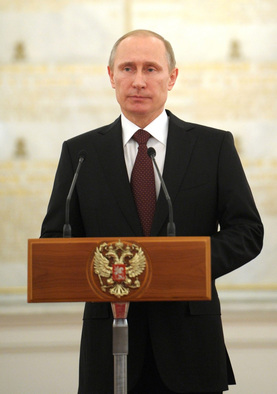 Władimir Putin / ALEXEY DRUZHININ / RIA NOVOSTI / KREMLIN POOL    /PAP/EPA