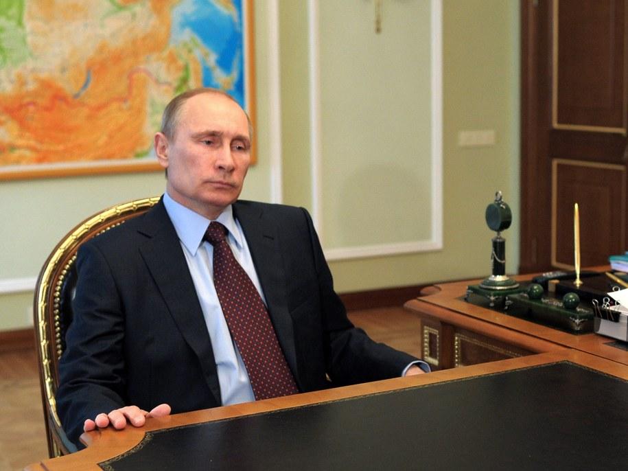 Władimir Putin /ALEXEY DRUGINYN / RIA NOVOSTI / KREMLIN POOL /PAP/EPA