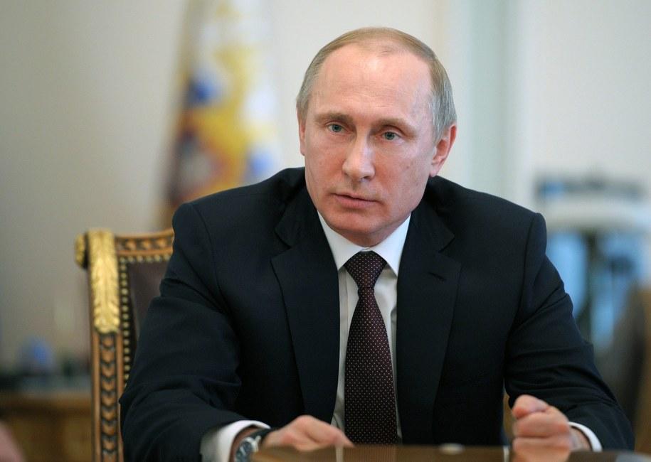 Władimir Putin /ALEXSEY DRUGINYN / POOL /PAP/EPA