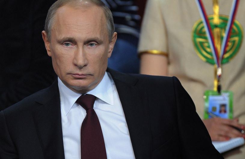 Władimir Putin /RIA-NOVOSTI/ POOL / MIKHAIL KLIMENTYEV /AFP