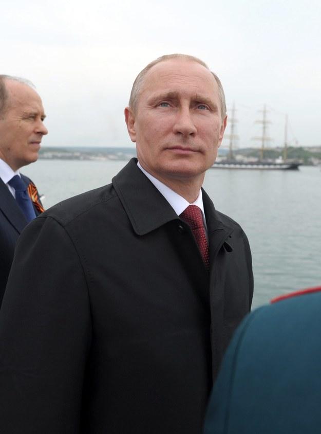 Władimir Putin /ALEXEY DRUGINYN/RIA NOVOSTI/KREMLIN POOL /PAP/EPA
